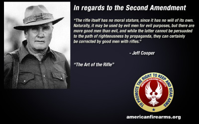 Jeff Cooper and the Second Amendment