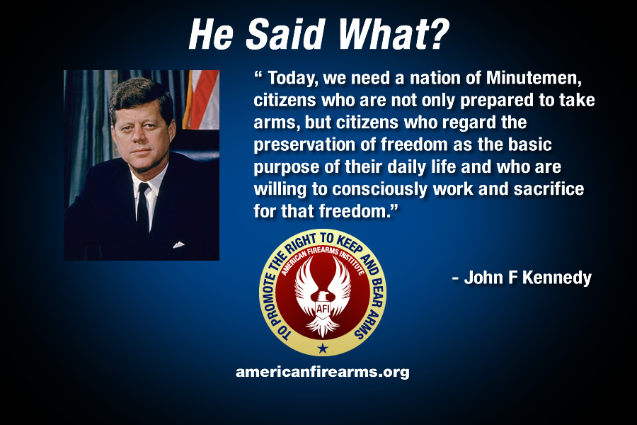 Image result for jfk gun quotes