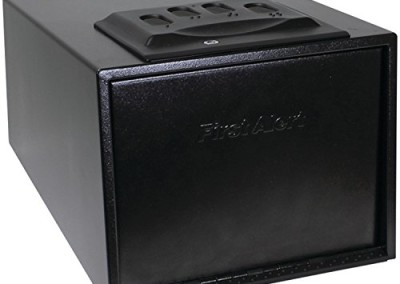 First Alert Portable Pistol or Handgun Safe, Large 5400DF