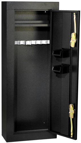 HOMAK 8-Gun Security Cabinet, Gloss Black HS30103660