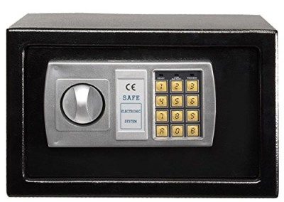 Winixson 12.5″ Electronic Digital Lock Keypad Safe Box Cash Jewelry Gun Safe Black New
