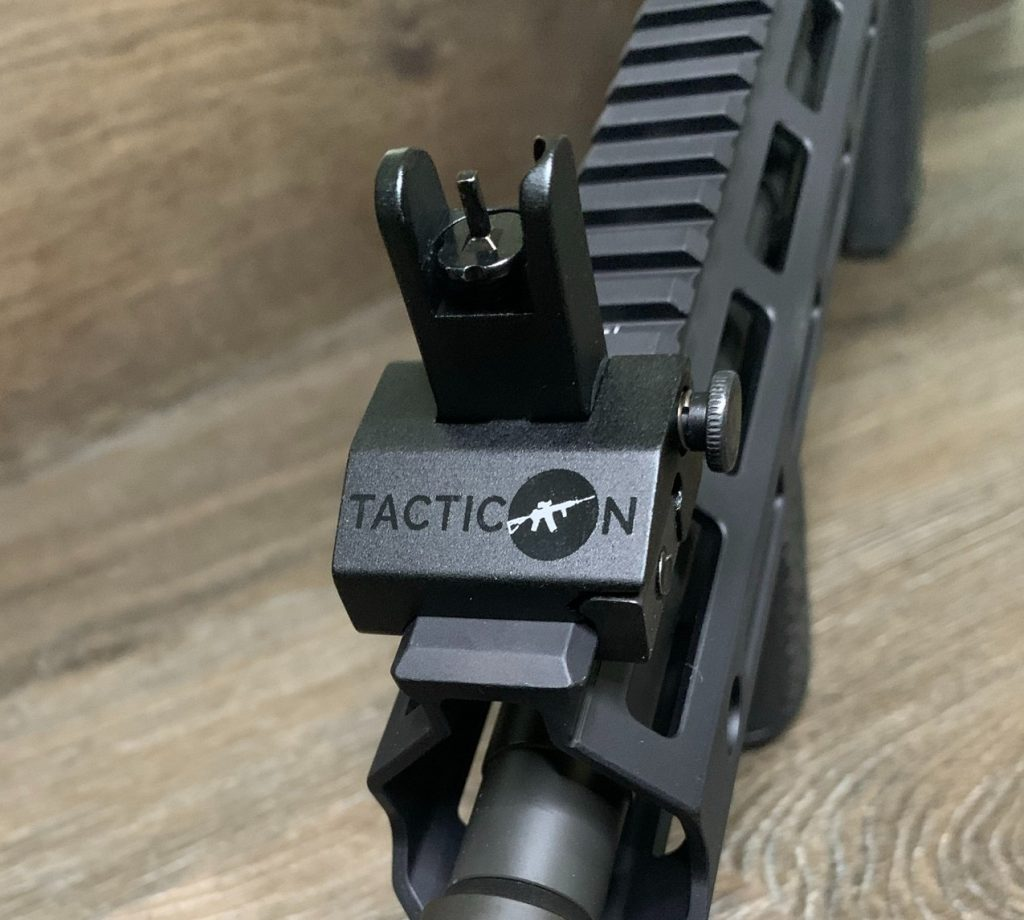 Back-up Iron Sights - Tacticon - Front Sight Mounted Alt