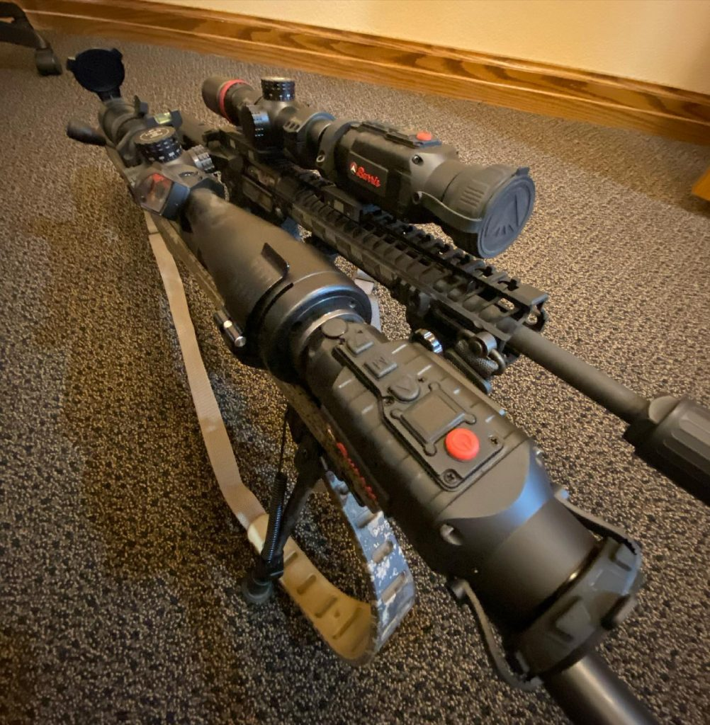 Burris clip on thermal scope