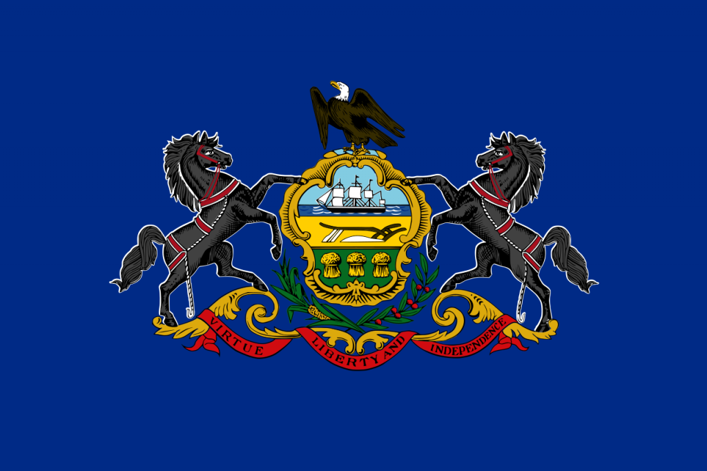 Gun Laws by State-Flag_of_Pennsylvania