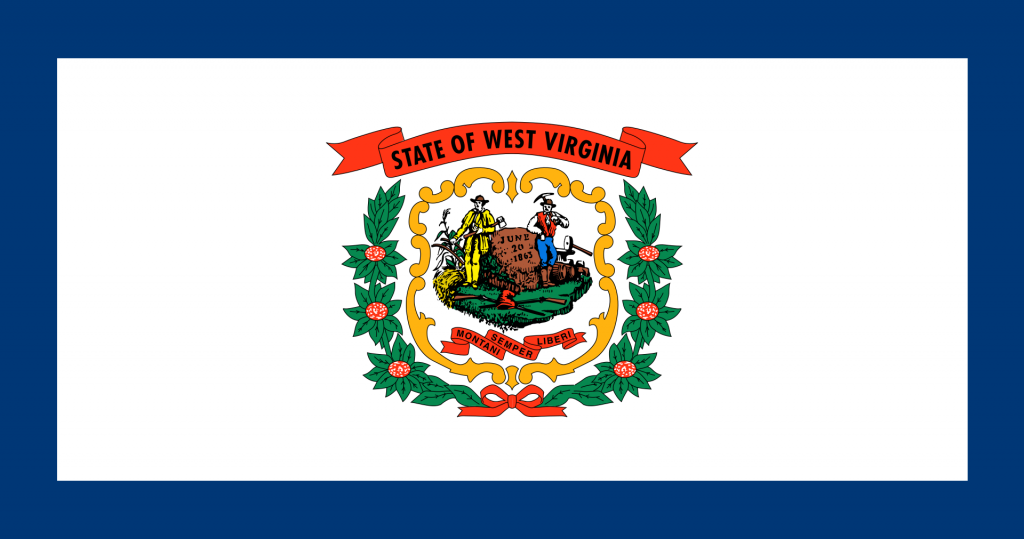 Gun Laws by State-Flag_of_West Virginia