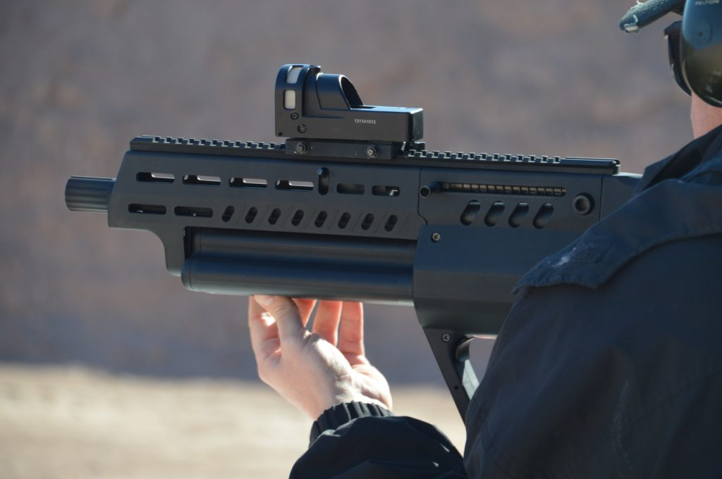 Tavor TS12 Review - Left Profile in Hand