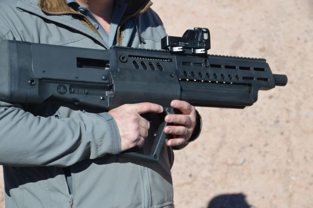 Tavor TS12 Review - Right Profile in Hand