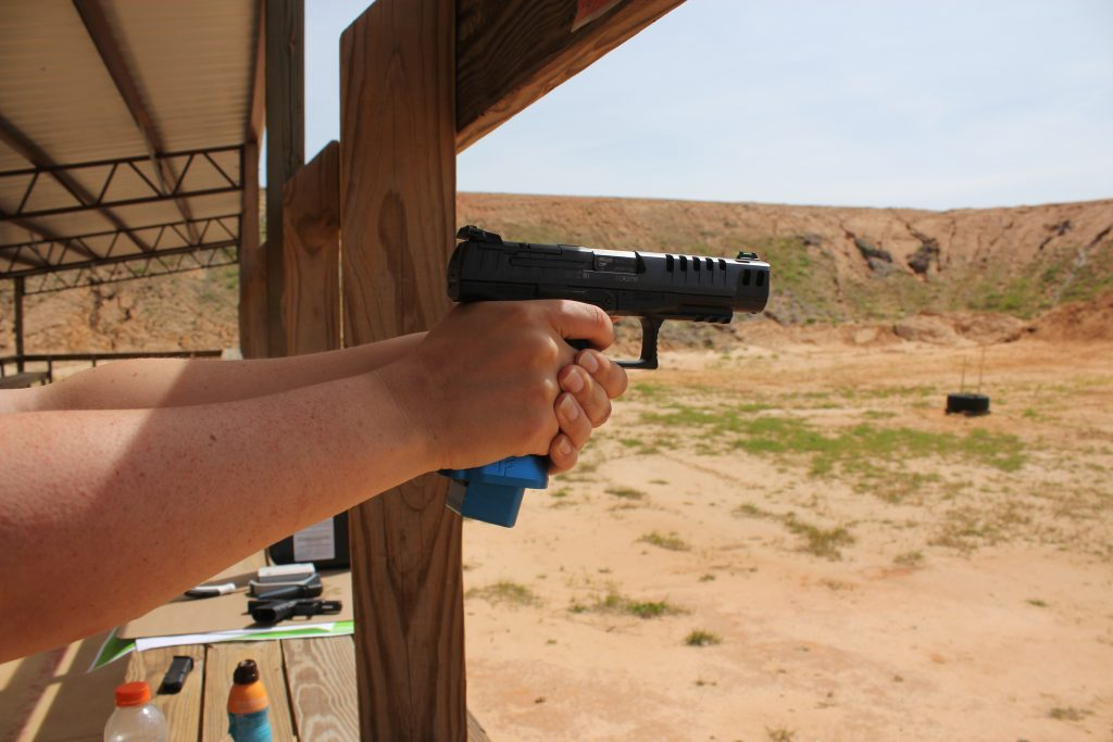 Shooting a Walther