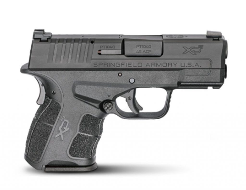 Best Subcompact 9mm pistols - Springfield XD-S