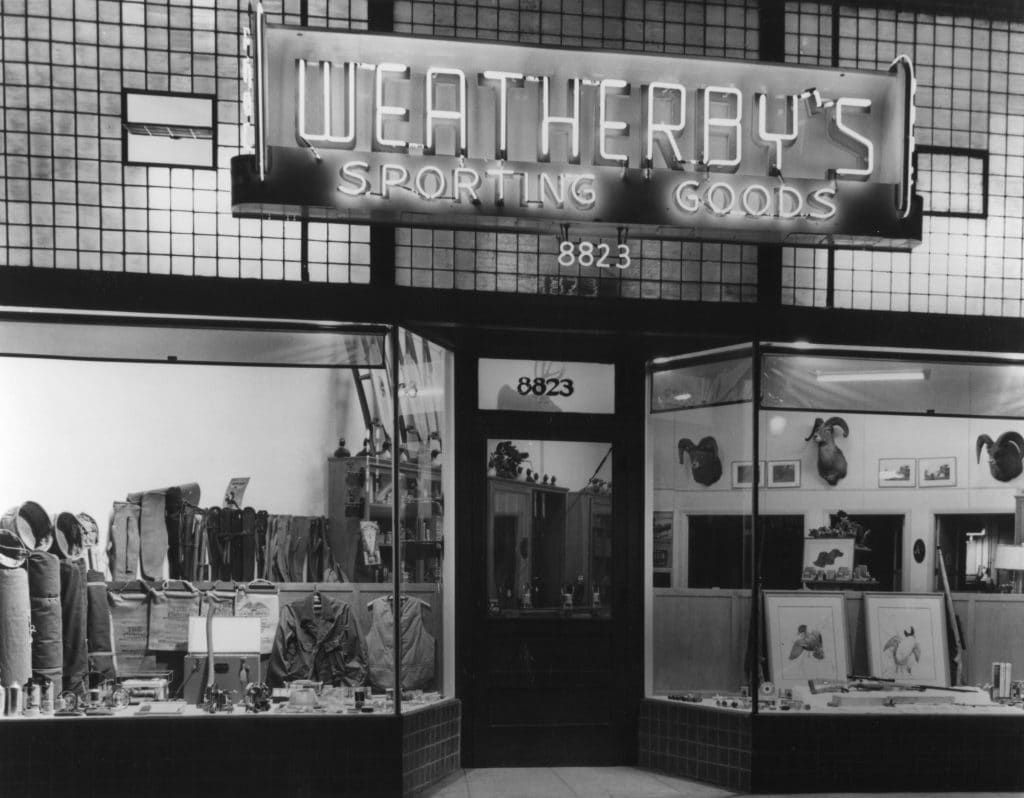 Weatherby's Storefront