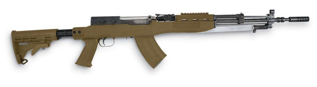 Best SKS Stocks - Aftermarket Stock on an SKS Rifle