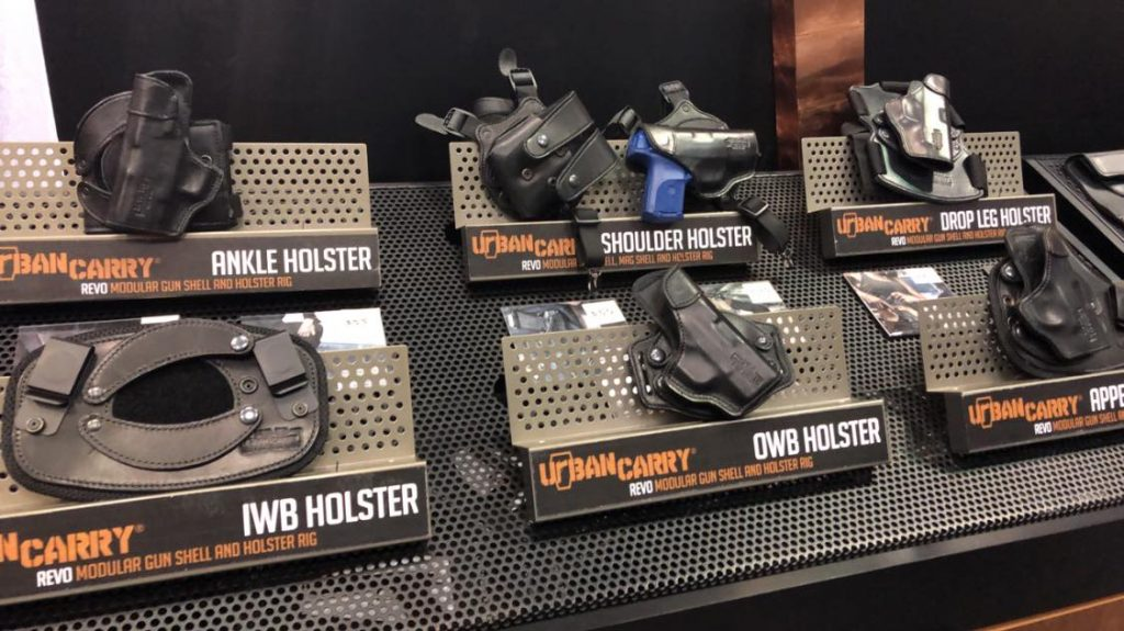 urban carry holster - display models