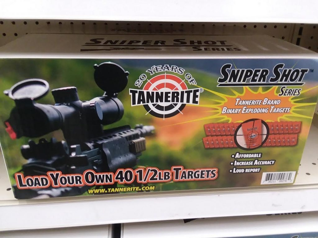 what is tannerite - sniper pack